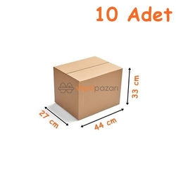 - Eşya Taşıma Kolisi Küçük (27x44x33)cm 10 Adet